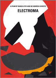 chungkong - No556 My Electroma minimal movie poster