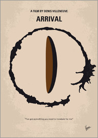 chungkong - No735 My Arrival minimal movie poster