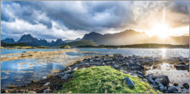 Sascha Kilmer - Nordic Light - Lofoten Islands panorama