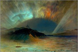 Frederic Edwin Church - Northern lights
