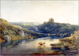 Joseph Mallord William Turner - Norham Castle: Summer's Morn