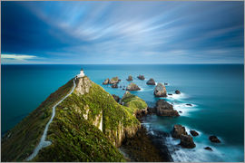 John Alexander - Nugget Point Lighthouse, Nugget Point, Otago, South Island, New Zealand, Pacific