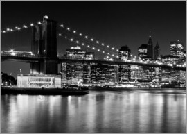 Melanie Viola - NYC Night Skyline