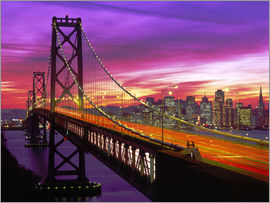 Paul Thompson - Oakland Bay Bridge and San Francisco Skyline