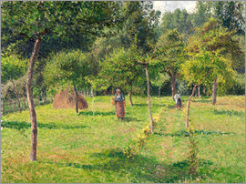 Camille Pissarro - Orchard in Éragny