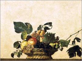Michelangelo Merisi (Caravaggio) - Basket with Fruit