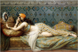 Adrien Henri Tanoux - The Odalisque
