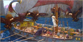 John William Waterhouse - Odysseus and the Sirens