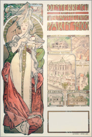 Alfons Mucha - Austria World exhibition, 1900