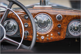 Christian Müringer - Cockpit of Classic Car