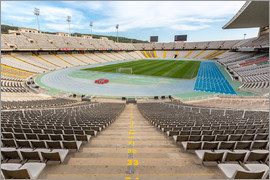Olympic stadium in Barcelona