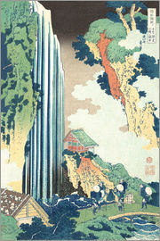 Katsushika Hokusai - Ono Waterfall on the Kisokaid?