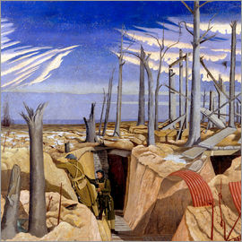 Paul Nash - Oppy Wood, Evening