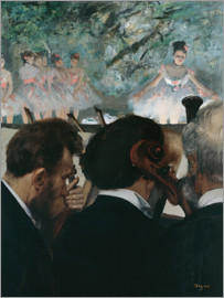 Edgar Degas - Orchestra Members