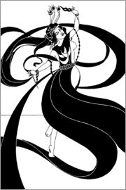 Aubrey Vincent Beardsley - Oriental dancer