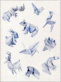 Jennifer McLennan - Origami animals