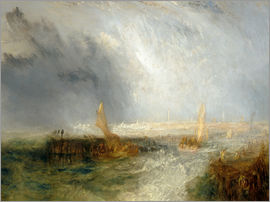 Joseph Mallord William Turner - Ostende. 1844