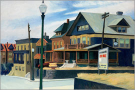 Edward Hopper - east wind over weehawken