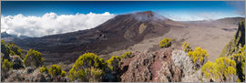 Markus Ulrich - Panorama of Piton de la Fournaise, La Reunion, France