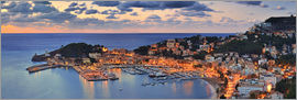 Fine Art Images - Port Soller Mallorca at night