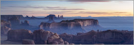 Matteo Colombo - Panoramic sunrise over Monument Valley Tribal park, Arizona, USA