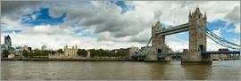 Circumnavigation - Panorama Tower Bridge and Tower of London