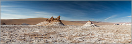 Circumnavigation - Panorama Valley of the Moon, Atacama, Chile