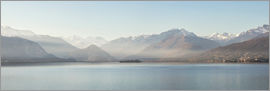Matteo Colombo - Panoramic of isola Madre on lake Maggiore, Stresa, Italy