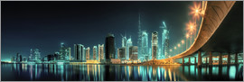 Panoramic view - Dubai Business Bay