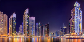 Panoramic view - Dubai Marina Bay