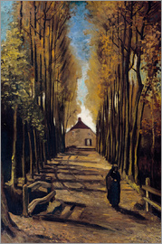 Vincent van Gogh - Poplar avenue in autumn