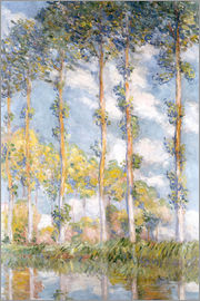 Claude Monet - poplars