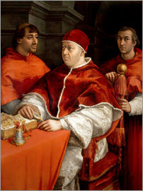 Raffael - Leo X with cardinals