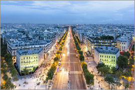 newfrontiers photography - PARIS - Champs-Elysees evening