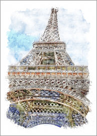 Peter Roder - Paris Eiffel Tower