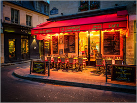 Jim Nix - Parisian cafe, Paris, France, Europe