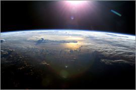 Nasa - Pacific Ocean from space