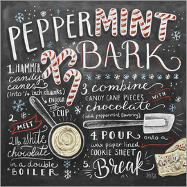 Lily & Val - Peppermint Bark Recipe