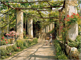 Peder Mork Mönsted - Pergola in Ravello