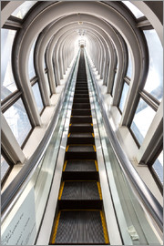 Perspective - escalator