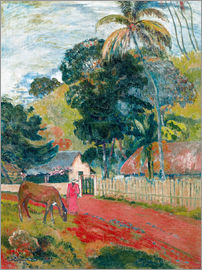 Paul Gauguin - Horse on the road