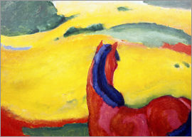 Franz Marc - Horse in the countryside