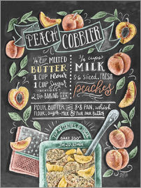 Lily & Val - Peach Cobbler recipe
