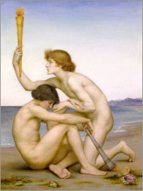 Evelyn De Morgan - Phosphorus and Hesperus, 1882