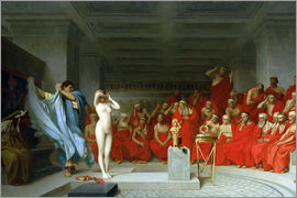 Jean Leon Gerome - Phryne before the Areopagus