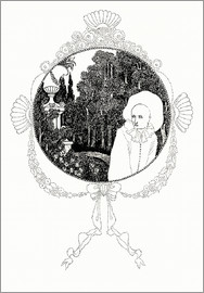 Aubrey Vincent Beardsley - pierrot of the minute
