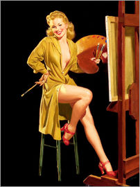 Al Buell - Pin up with a color palette
