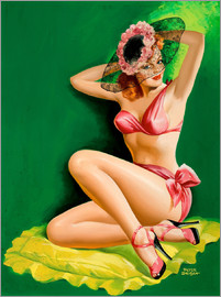 Peter Driben - Pin Up with Hat 1949