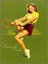 Al Buell - Pin Up - Shorts and Sweet