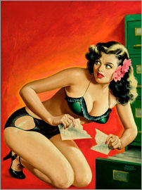 Peter Driben - Pin Up - Special Detective 1945
